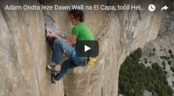 Adam Ondra Dawn Wall video by Heinz Zak